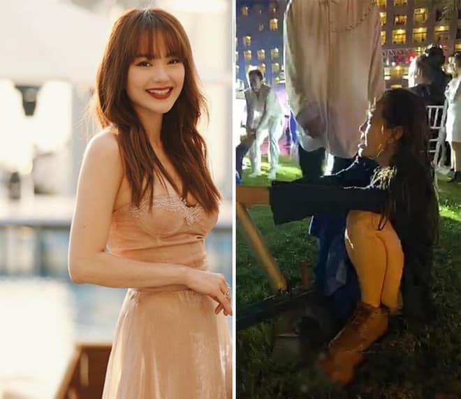 Đi ăn cưới Đông Nhi, Minh Hằng tranh thủ chụp loạt ảnh mặc bikini gợi cảm