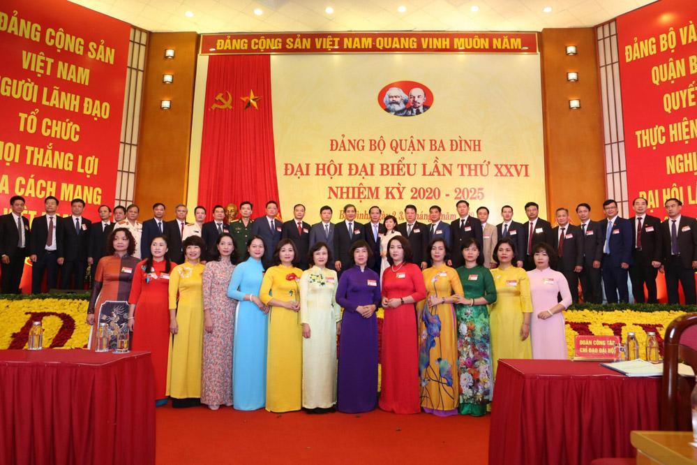 Xứng đáng với truyền thống 60 năm Đảng bộ quận Ba Đình