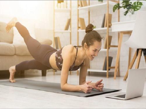 Tập thể dục tại nhà khi cách ly