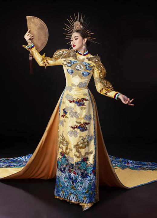 Lộ diện quốc phục của Á hậu Tường San tại Miss International 2019