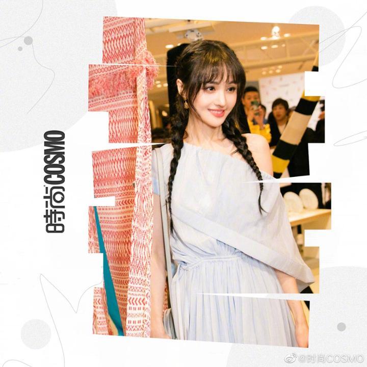 12 sao Hoa ngữ gây sốt với kiểu tóc thôn nữ: Trịnh Sảng - Angela Baby đẹp xuất sắc!