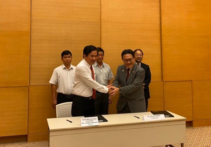 UBND huyện Krông Năng ký hợp đồng viện trợ với Tổng Lãnh sự Nhật Bản tại TP Hồ Chí Minh