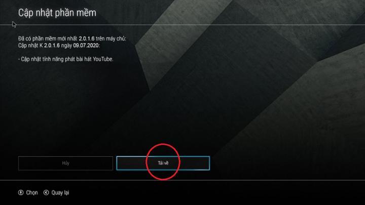 Cập nhật phần mềm trên đầu Hanet PlayX Pro