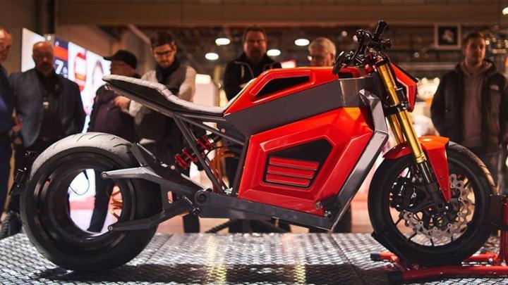Lộ diện mẫu xe chạy điện Verge TS có tốc độ siêu khủng