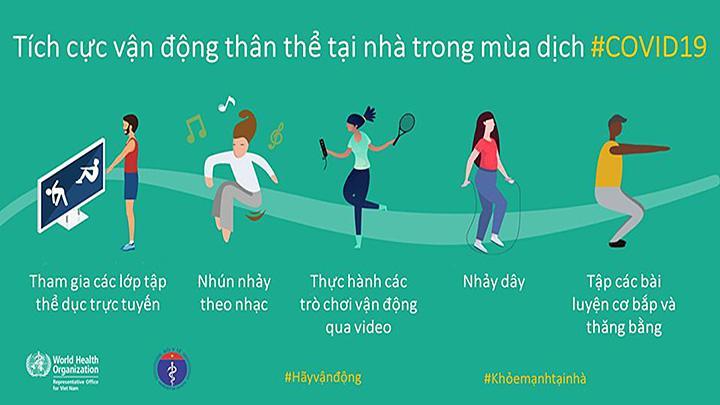 Quận Ba Đình: Hướng dẫn Nhân dân tập luyện TDTT tại nhà