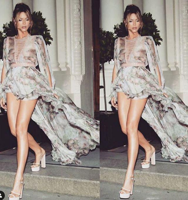 Fans ngưỡng mộ thân hình quyến rũ của siêu mẫu Abbey Clancy