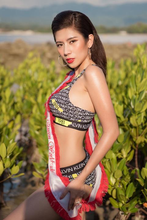 Dương Yến Nhung khoe body nóng bỏng sau đăng quang Hoa hậu Du lịch Quốc tế 2019