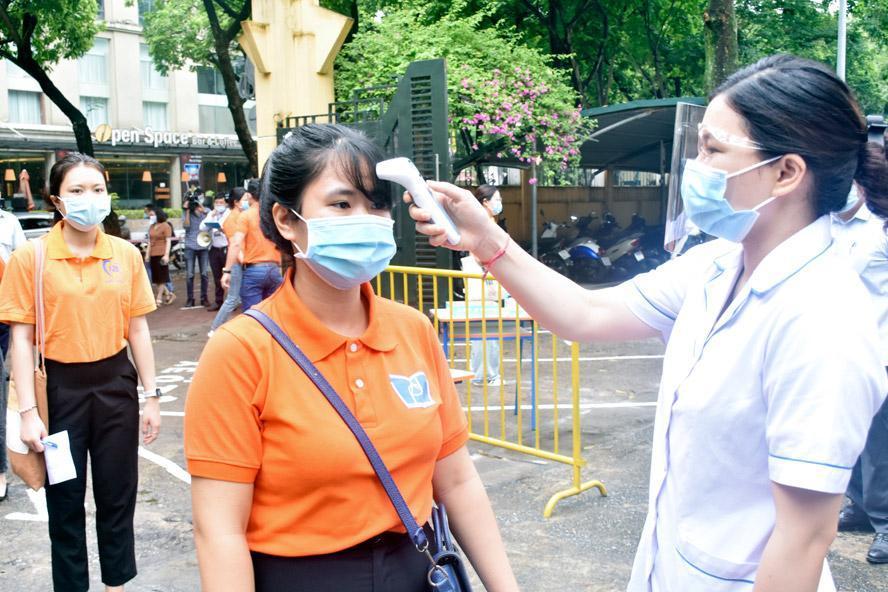 Trước 17h ngày 11-6, thí sinh thi lớp 10 phải hoàn thành khai báo y tế